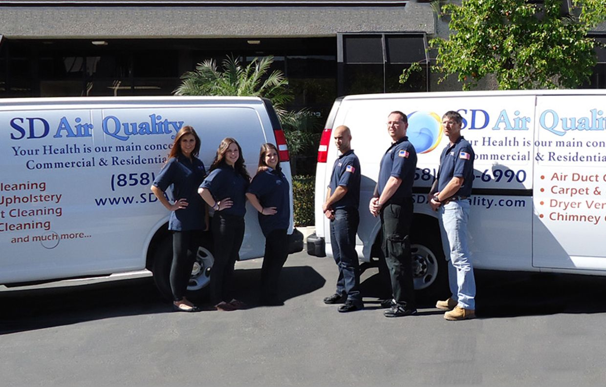 Sd Air Quality Chula Vista Air Duct Cleaning Best Air Duct