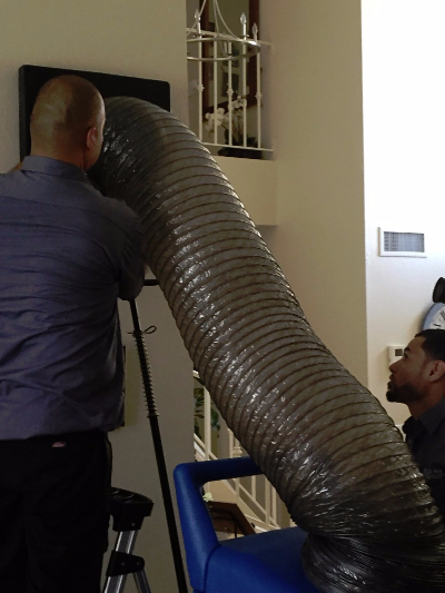 Duct Cleaning Process